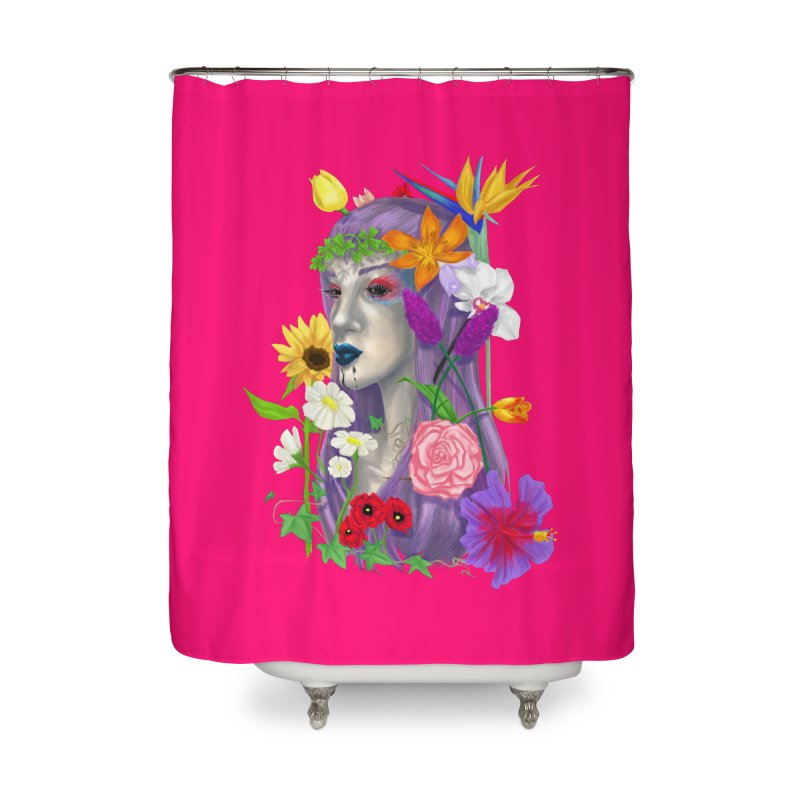 I CAN'T SEE Home Shower Curtain by designs by doxxi