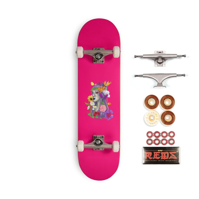 I CAN'T SEE Accessories Skateboard by designs by doxxi
