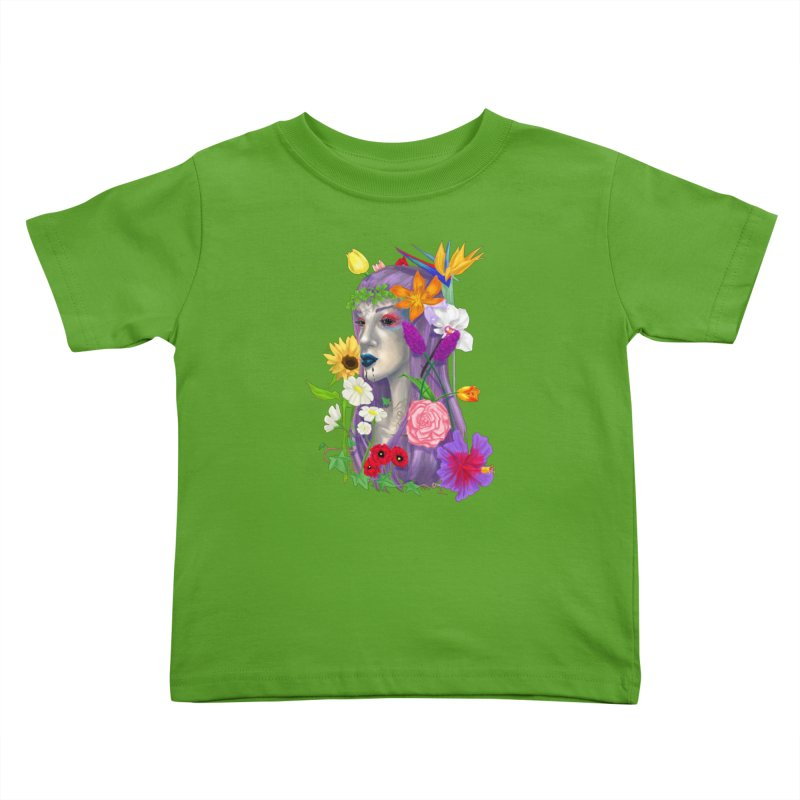 I CAN'T SEE Kids Toddler T-Shirt by designs by doxxi