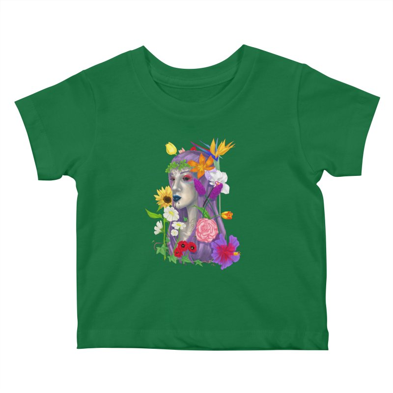 I CAN'T SEE Kids Baby T-Shirt by designs by doxxi