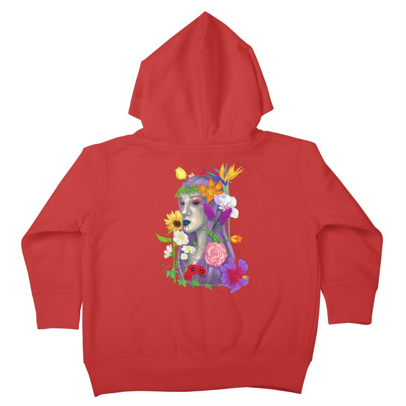 I CAN'T SEE Kids Toddler Zip-Up Hoody by designs by doxxi