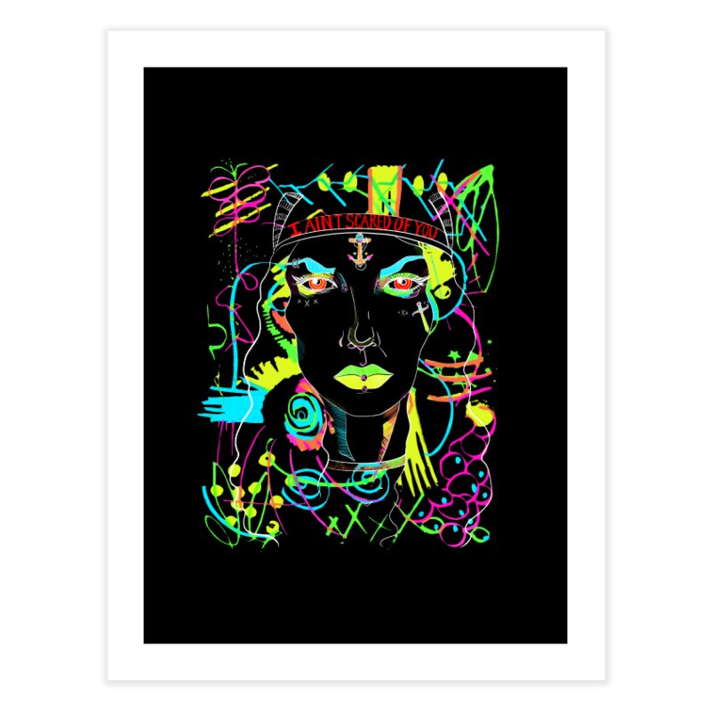 Nasty Woman Home Fine Art Print by designs by doxxi