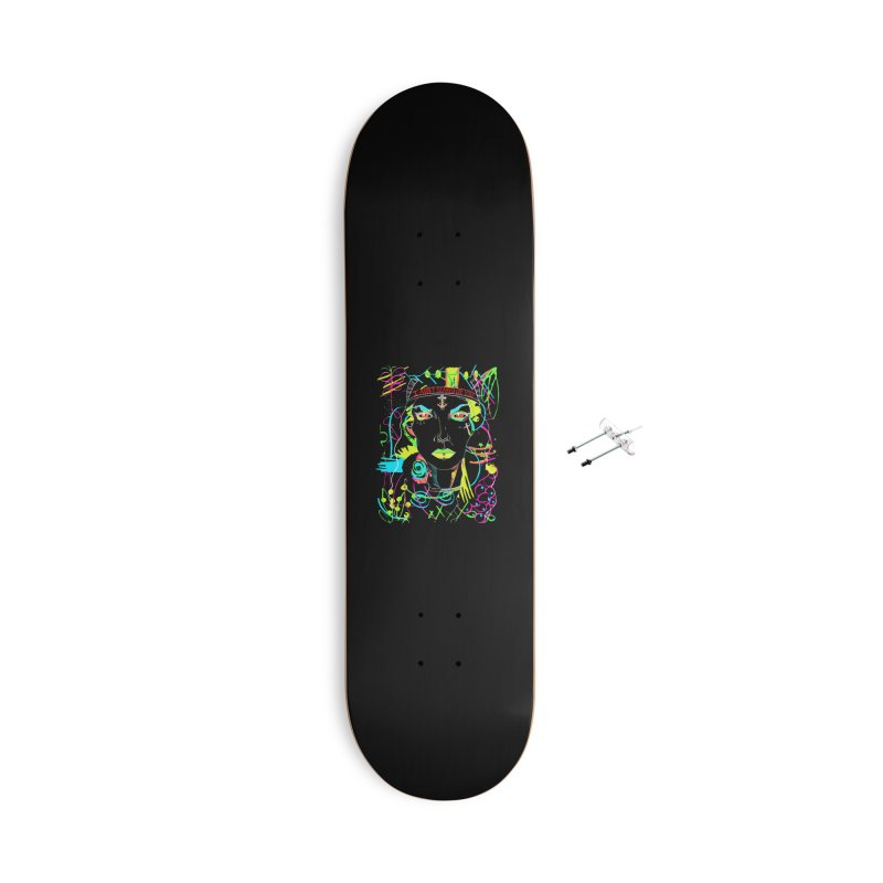 Nasty Woman Accessories Skateboard by designs by doxxi