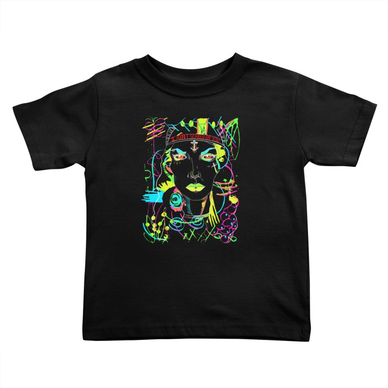 Nasty Woman Kids Toddler T-Shirt by designs by doxxi