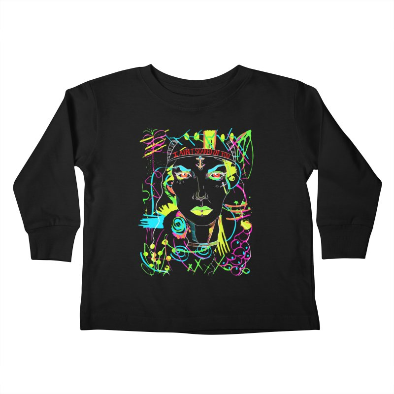 Nasty Woman Kids Toddler Longsleeve T-Shirt by designs by doxxi