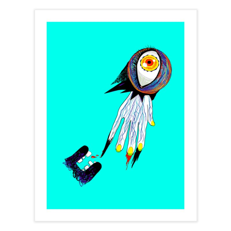 Noms Home Fine Art Print by designs by doxxi