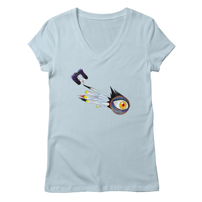Noms Women's V-Neck by designs by doxxi