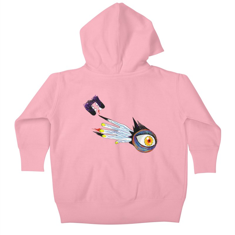 Noms Kids Baby Zip-Up Hoody by designs by doxxi