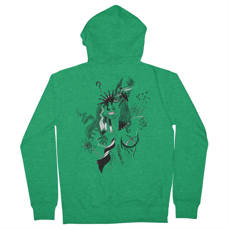 No Way Women's Zip-Up Hoody by designs by doxxi