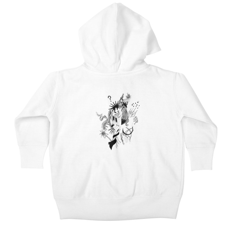 No Way Kids Baby Zip-Up Hoody by designs by doxxi