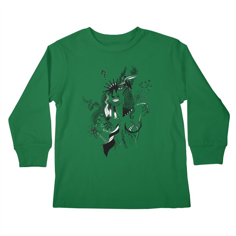 No Way Kids Longsleeve T-Shirt by designs by doxxi