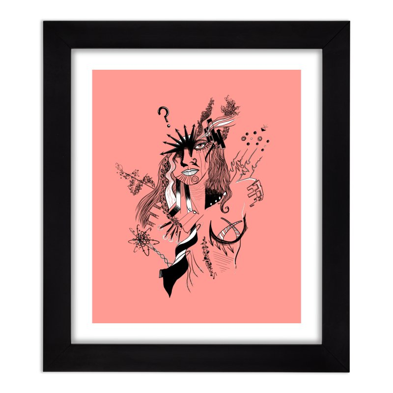 No Way Home Framed Fine Art Print by designs by doxxi