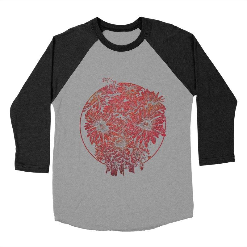 Death Blooms Men's Baseball Triblend T-Shirt by doylesee's Artist Shop