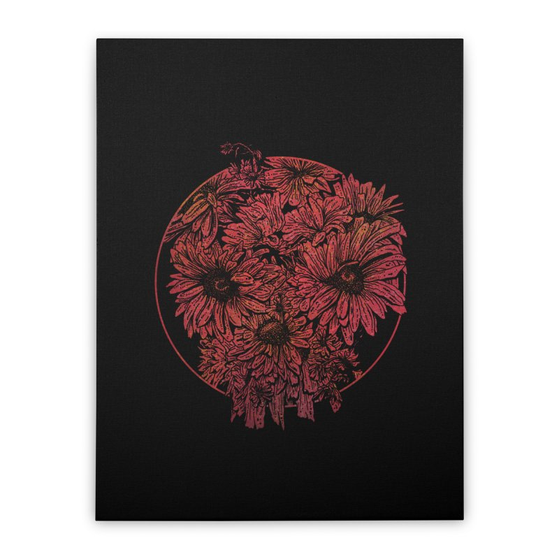 Death Blooms Home Stretched Canvas by doylesee's Artist Shop