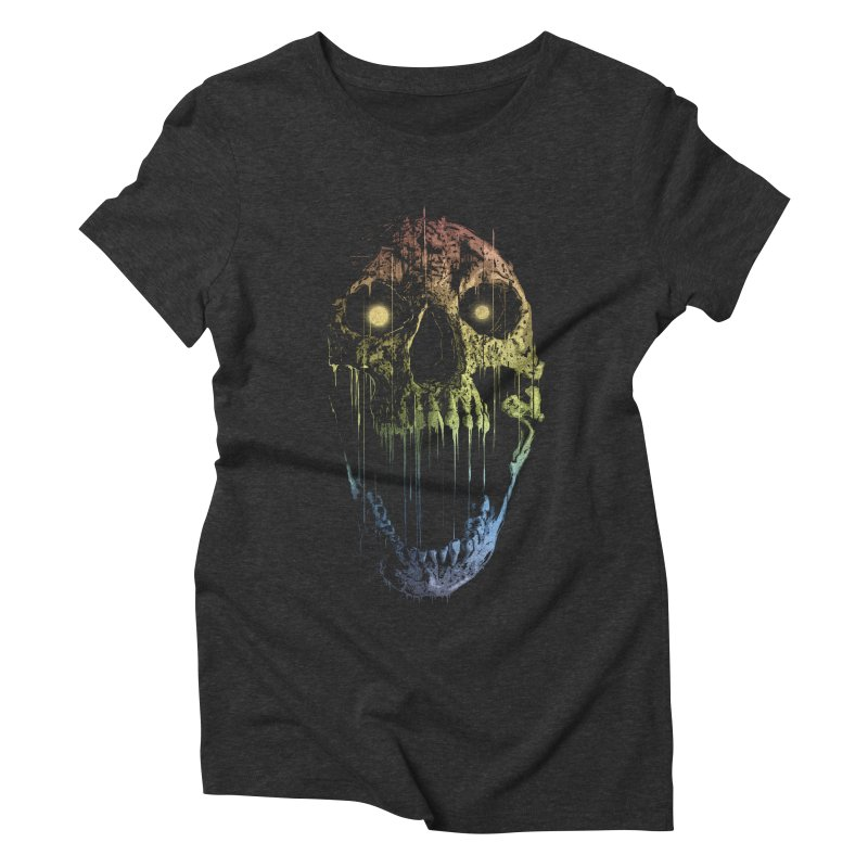 Soul Eater Women's Triblend T-shirt by doylesee's Artist Shop