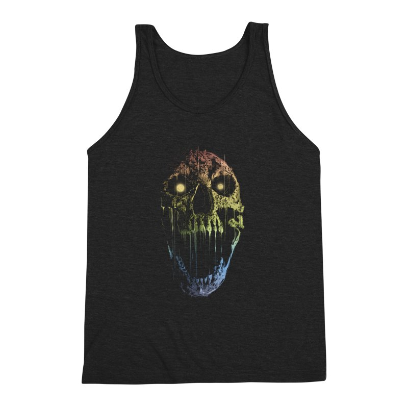 Soul Eater Men's Triblend Tank by doylesee's Artist Shop