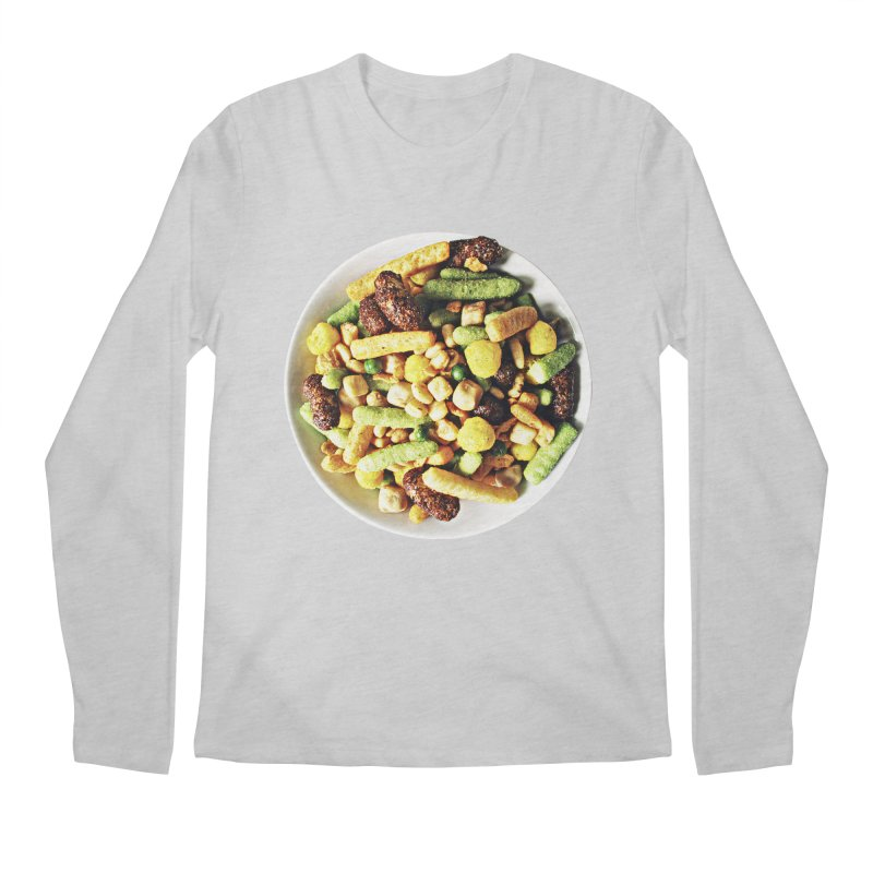 Bowl of Junk Men's Longsleeve T-Shirt by doylesee's Artist Shop