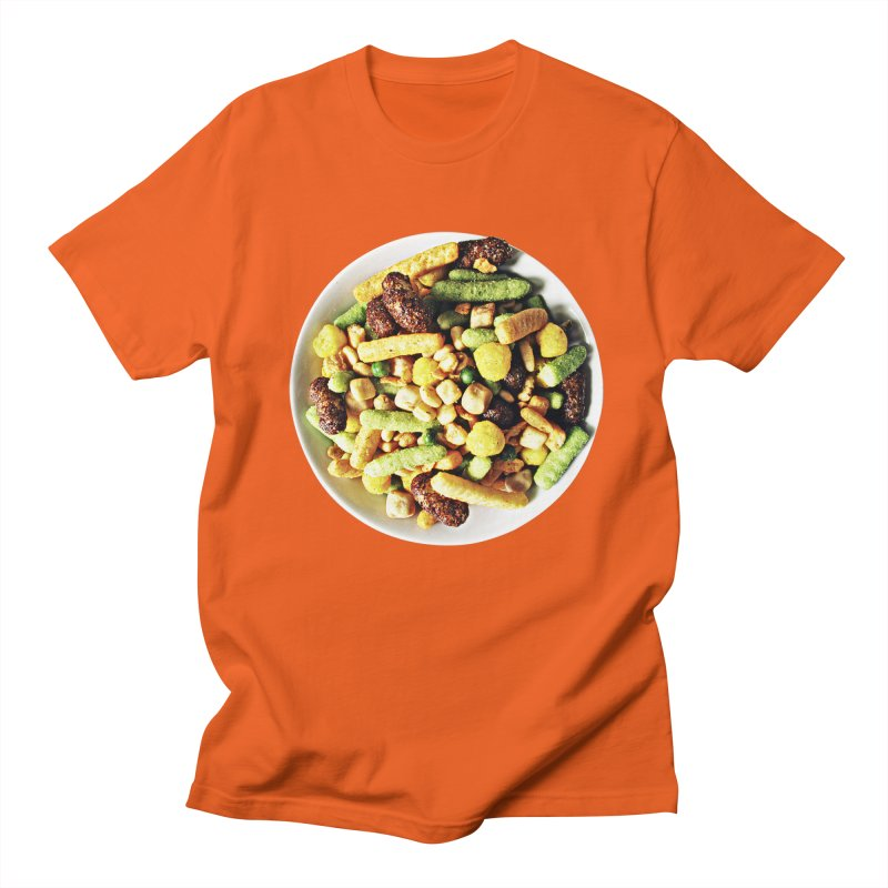 Bowl of Junk Men's T-shirt by doylesee's Artist Shop