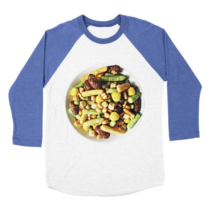 Bowl of Junk Women's Baseball Triblend T-Shirt by doylesee's Artist Shop