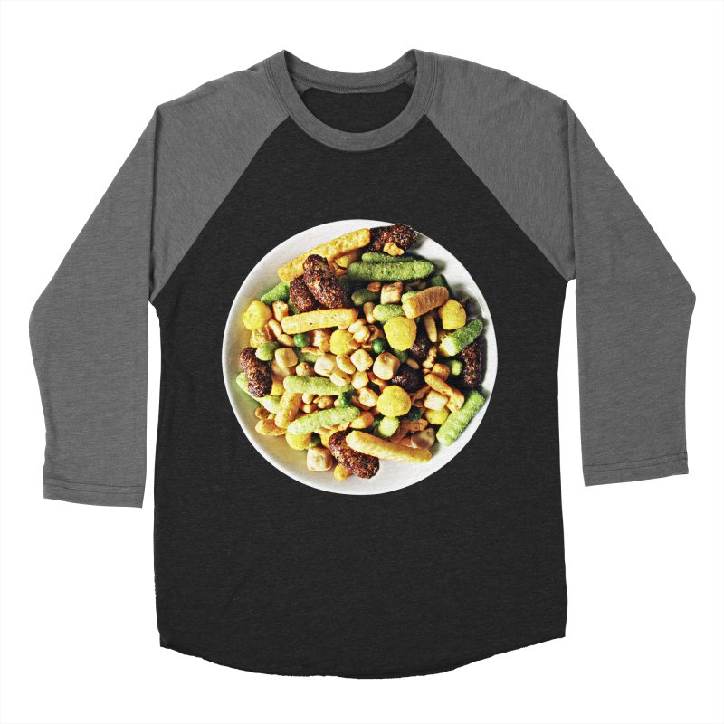Bowl of Junk Men's Baseball Triblend T-Shirt by doylesee's Artist Shop