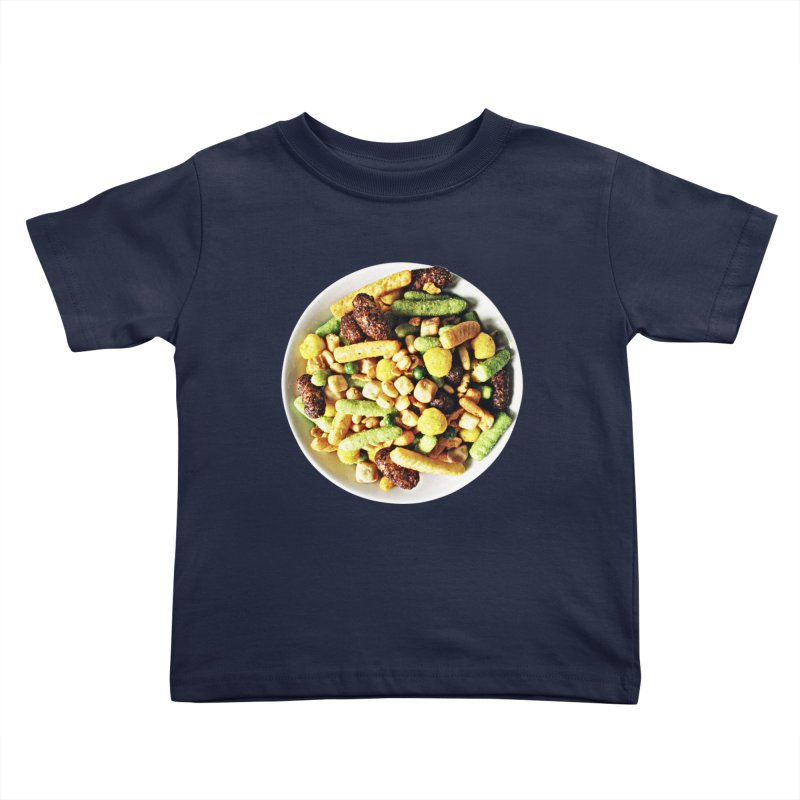 Bowl of Junk Kids Toddler T-Shirt by doylesee's Artist Shop