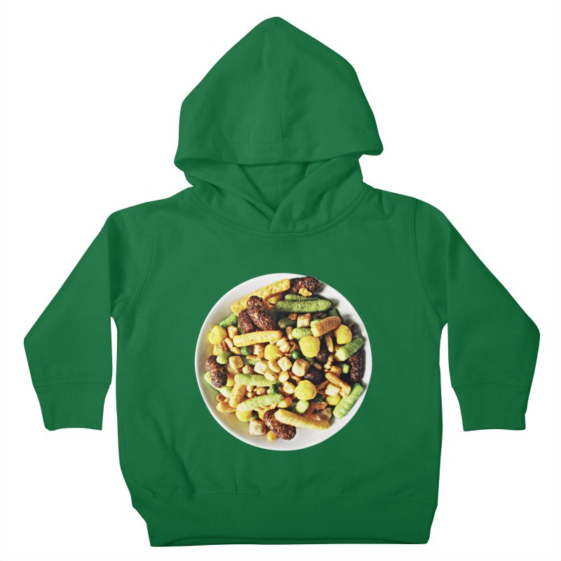 Bowl of Junk Kids Toddler Pullover Hoody by doylesee's Artist Shop