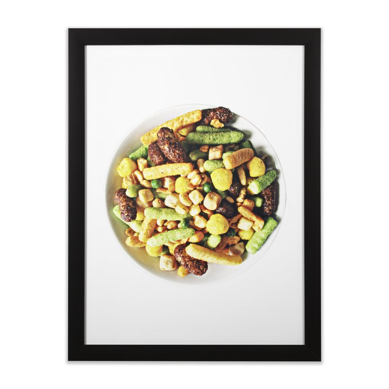 Bowl of Junk Home Framed Fine Art Print by doylesee's Artist Shop