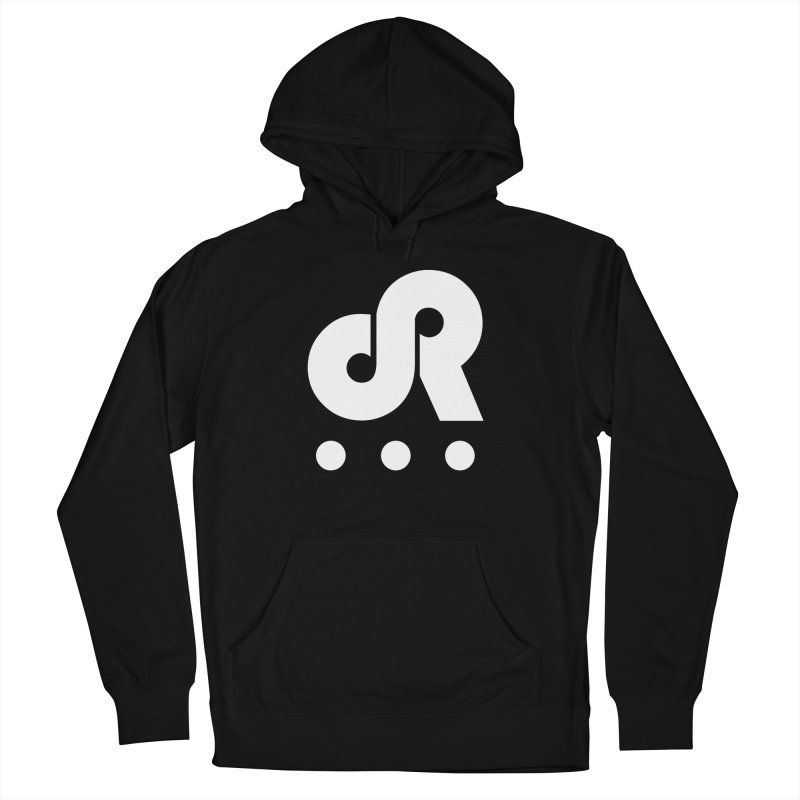 DR3 in Men's French Terry Pullover Hoody Black by DR3 Merch