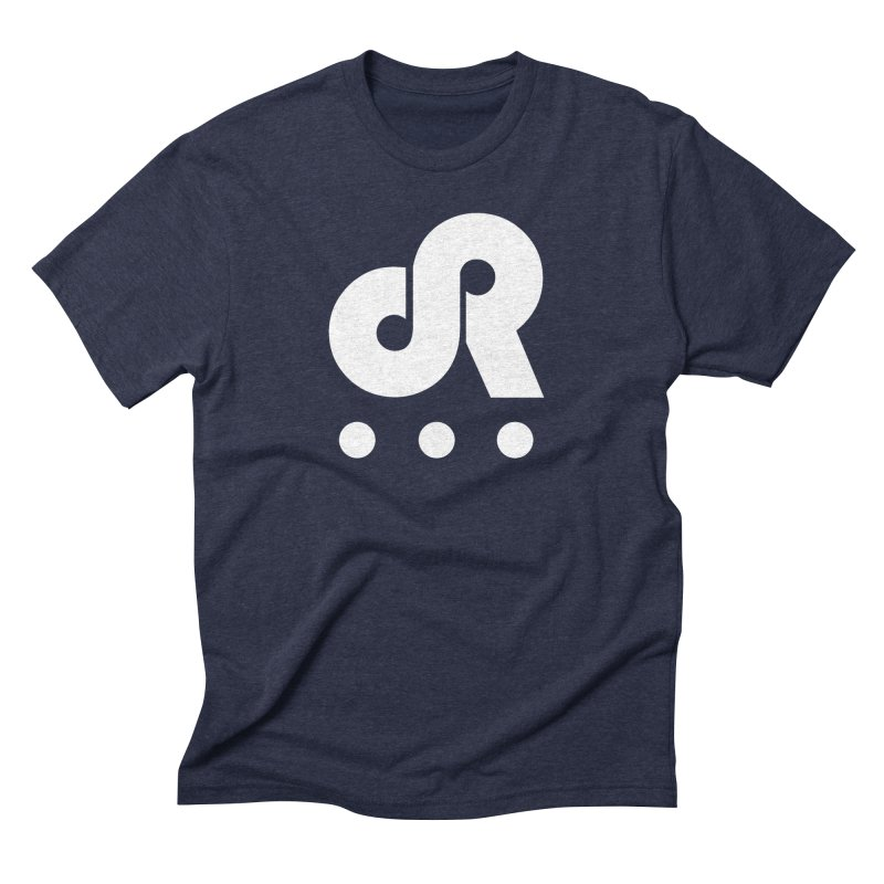 DR3 in Men's Triblend T-Shirt Navy by DR3 Merch