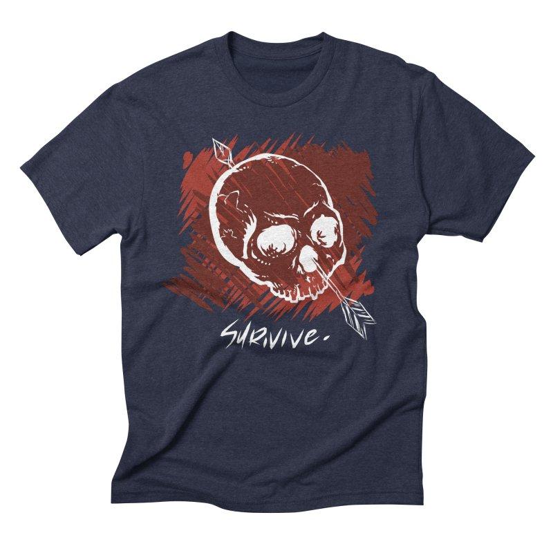 Dead Island Men's Triblend T-Shirt by DRA Studio's Shop