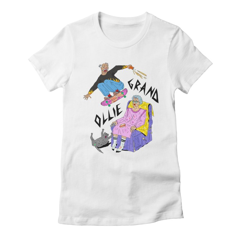 Grand Ollie Women's Fitted T-Shirt by Dustees Shop