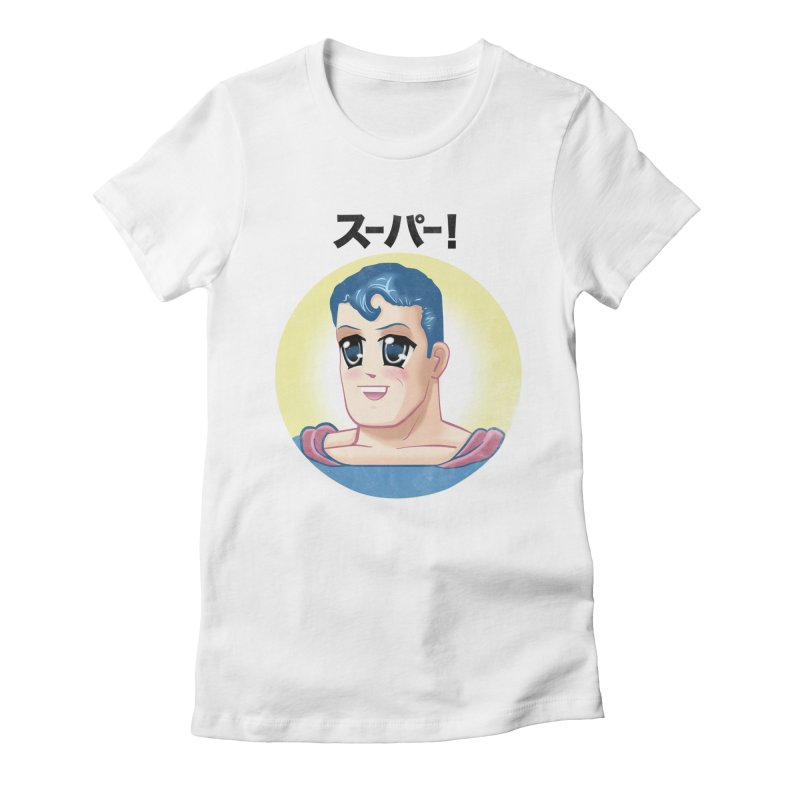 Super! Women's Fitted T-Shirt by Dustees Shop