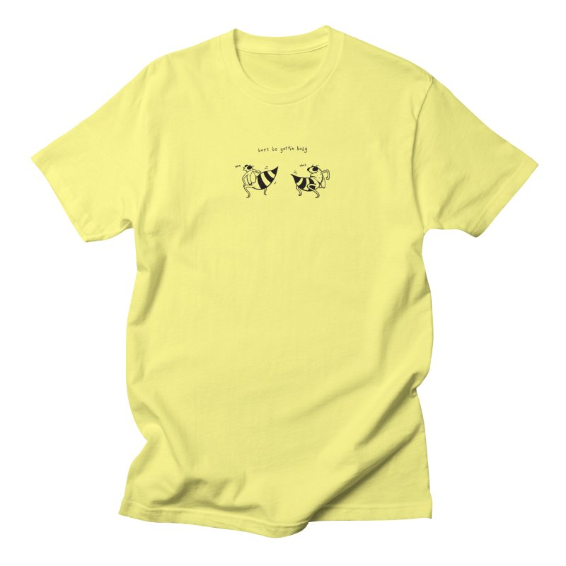 Bees Be Gettin' Busy Men's Regular T-Shirt by Dustees Shop