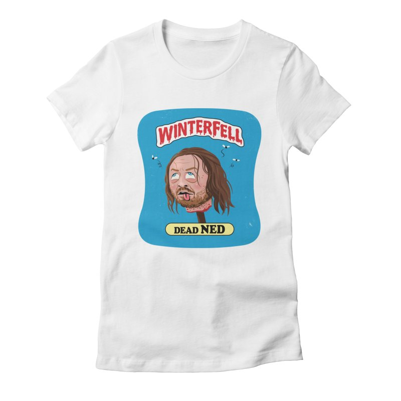 Dead Ned Women's Fitted T-Shirt by Dustees Shop