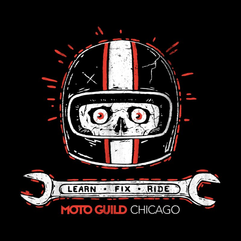 Moto Guild Chicago Men's T-Shirt by Dustees Shop