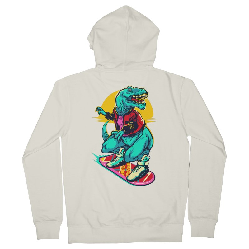 Rex to the Future Women's Zip-Up Hoody by dracoimagem's Artist Shop