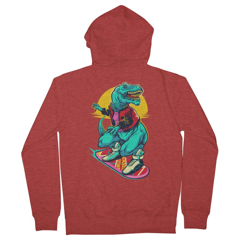 Rex to the Future Men's Zip-Up Hoody by dracoimagem's Artist Shop