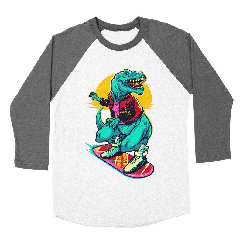 Rex to the Future Women's Baseball Triblend T-Shirt by dracoimagem's Artist Shop