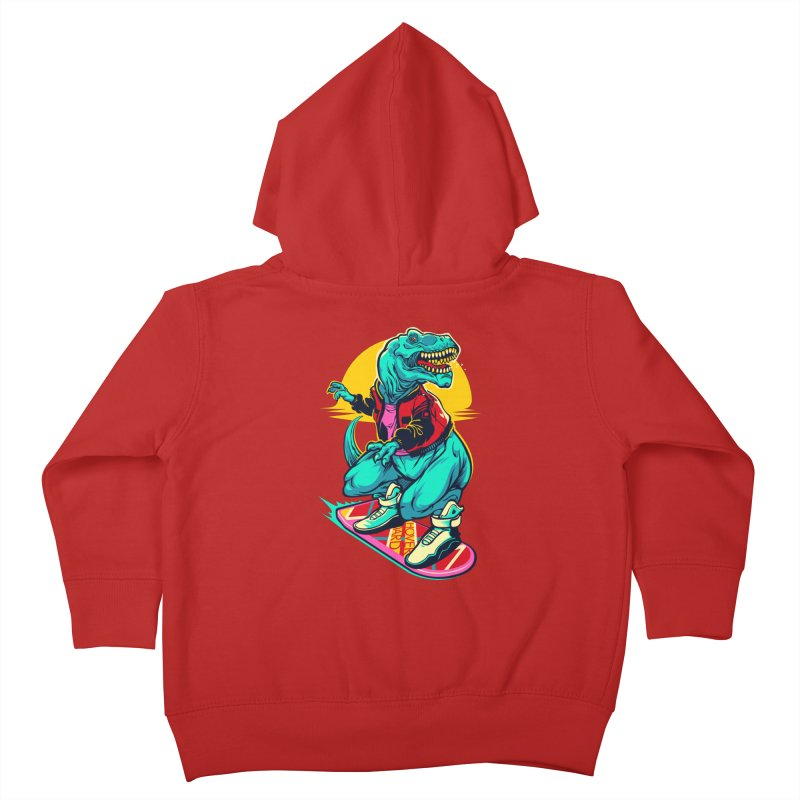 Rex to the Future Kids Toddler Zip-Up Hoody by dracoimagem's Artist Shop
