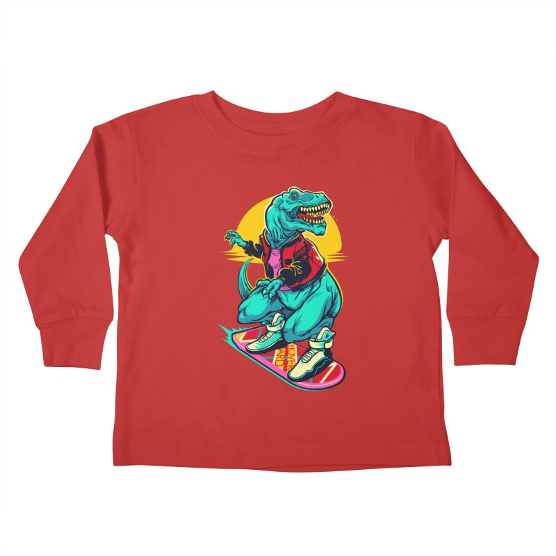 Rex to the Future Kids Toddler Longsleeve T-Shirt by dracoimagem's Artist Shop