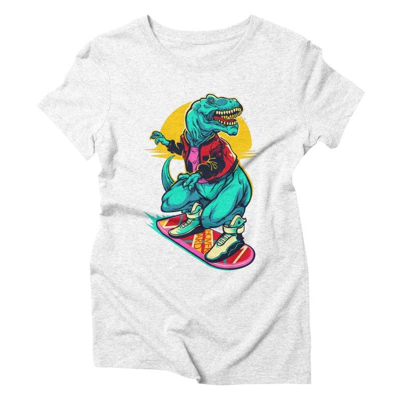 Rex to the Future Women's Triblend T-shirt by dracoimagem's Artist Shop