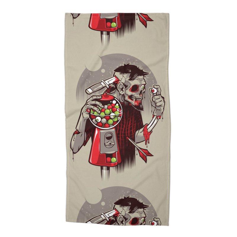 Bubbleye gum Accessories Beach Towel by dracoimagem's Artist Shop