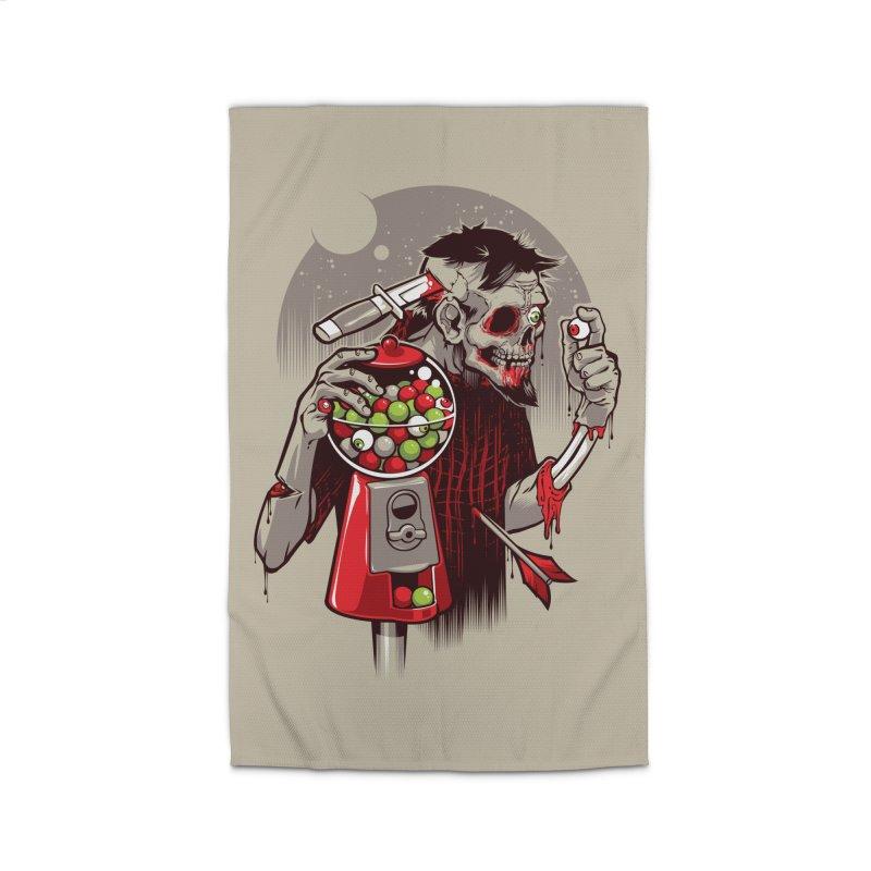 Bubbleye gum Home Rug by dracoimagem's Artist Shop