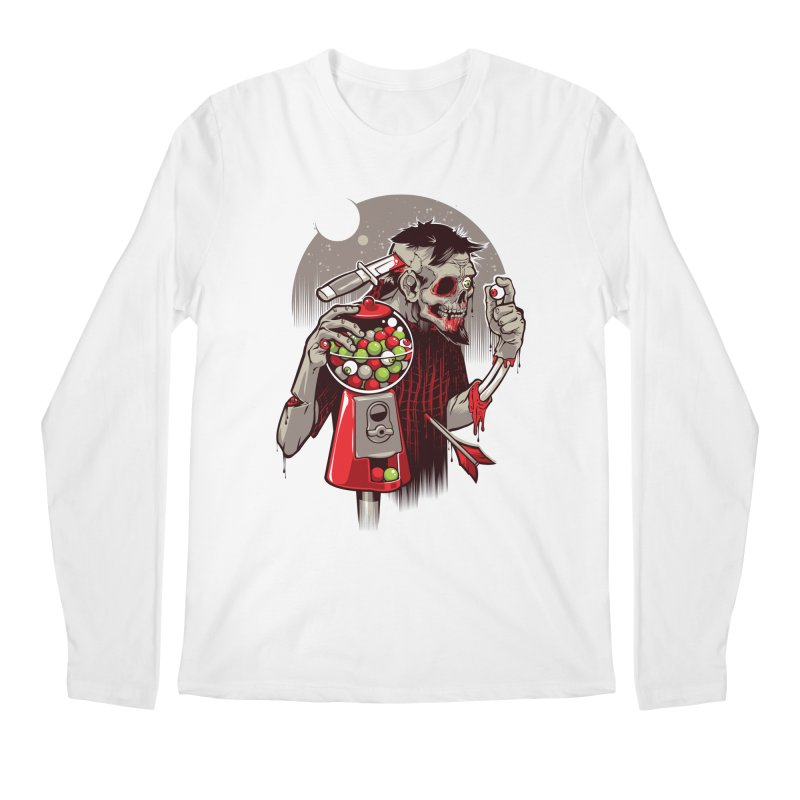 Bubbleye gum Men's Longsleeve T-Shirt by dracoimagem's Artist Shop