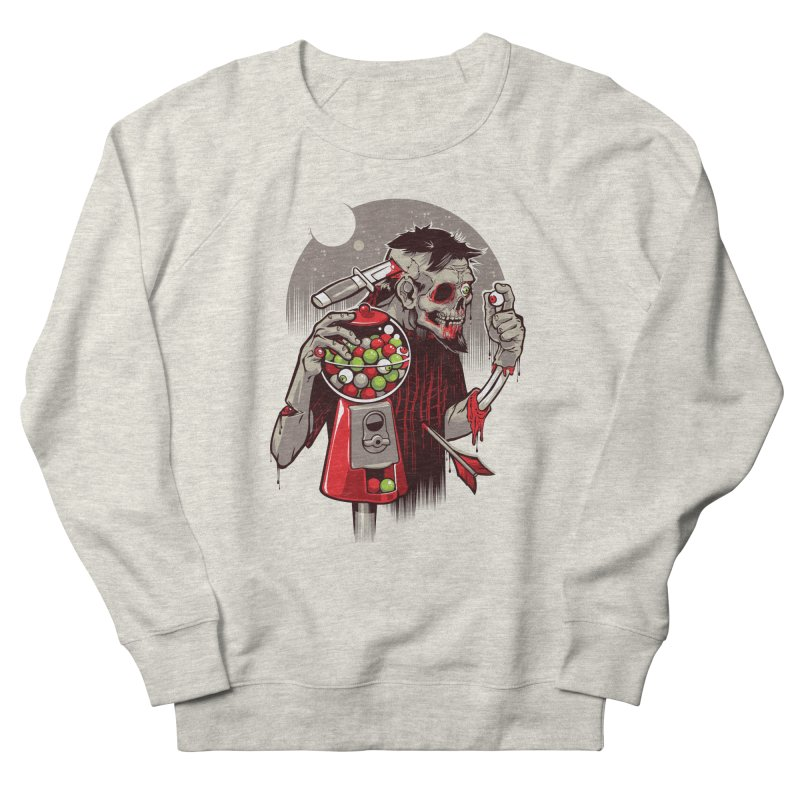 Bubbleye gum Women's Sweatshirt by dracoimagem's Artist Shop