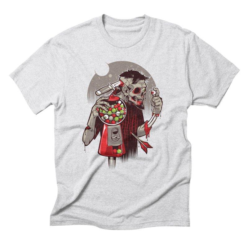 Bubbleye gum Men's Triblend T-Shirt by dracoimagem's Artist Shop