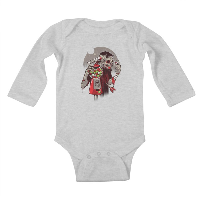Bubbleye gum Kids Baby Longsleeve Bodysuit by dracoimagem's Artist Shop