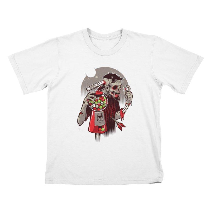 Bubbleye gum Kids T-shirt by dracoimagem's Artist Shop