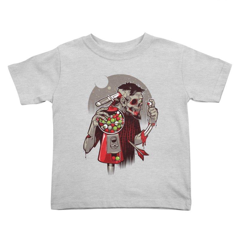 Bubbleye gum Kids Toddler T-Shirt by dracoimagem's Artist Shop