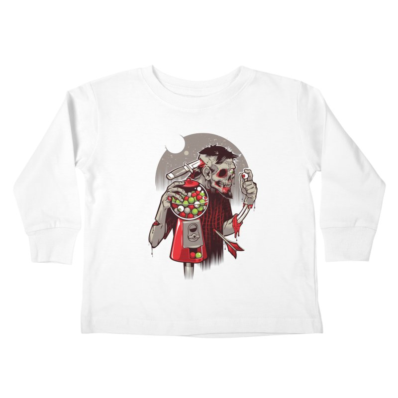 Bubbleye gum Kids Toddler Longsleeve T-Shirt by dracoimagem's Artist Shop